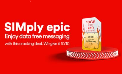 Virgin Mobile 15GB SIM flash sale
