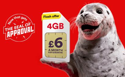 Virgin Mobile Seal of Approval banner