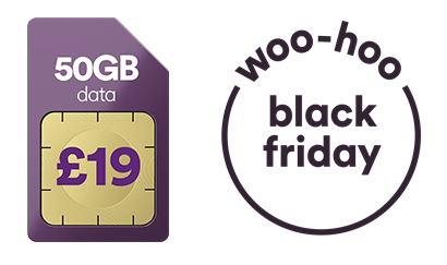SIM card and Black Friday imagery