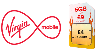 5GB SIM only deal from Virgin Mobile