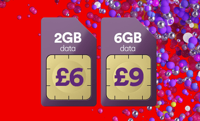 Virgin Mobile SIM sale banner
