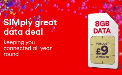 Virgin Mobile sale SIMs banner