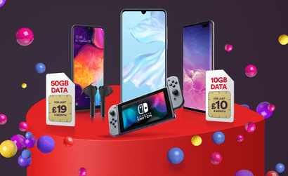 Virgin Mobile sale SIMs banner