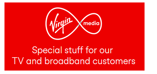 Virgin Mobile and Three logos