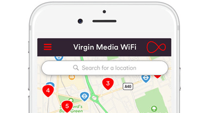 Free WiFi on Virgin Mobile