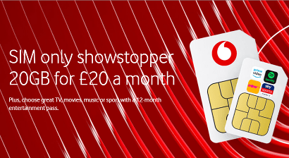 Vodafone SIM offers