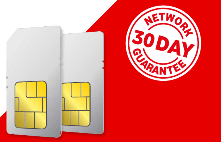 Vodafone 30 day network guarantee and more review - SIM Sherpa