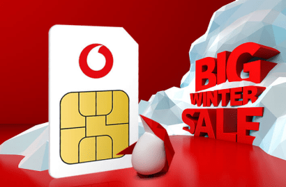 Vodafone unlimited data SIM offers