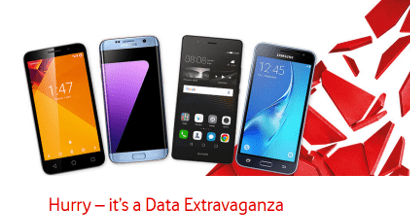 Vodafone data extravaganza