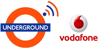 Vodafone's free WiFi on the Underground