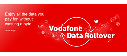 Vodafone data rollover