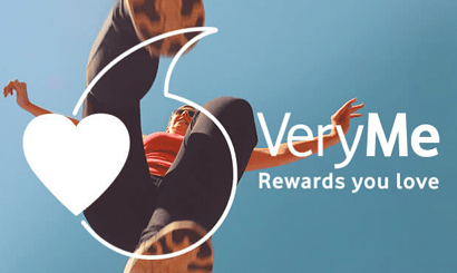 Vodafone Very Me Rewards app