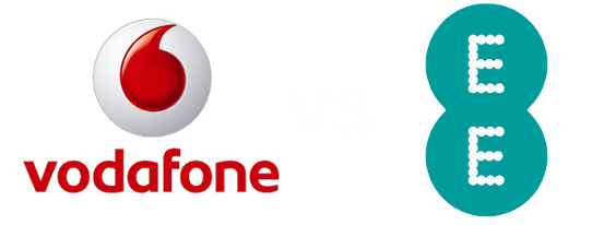 Comparing EE and Vodafone