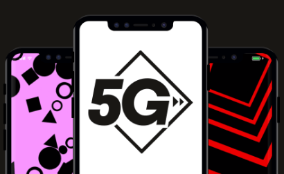 VOXI branded phone with 5G
