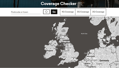 VOXI 4G and 3G coverage map