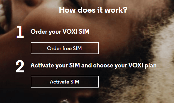 VOXI capped contracts